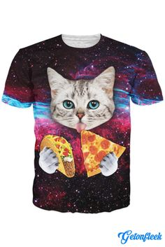 Taco Cat Tee - Shop our entire collection of Cat Apparel! www.getonfleek.com