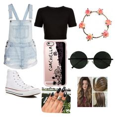 """""""COACHELLA FEVER GOING AGAIN TODAY THIS IS MY CLOTHES ❤️❤️"""" by nathalie-garcia-1 ❤ liked on Polyvore featuring Ted Baker, Converse and Casetify"""