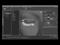 Ornatrix Maya: Eyelashes in under 2 minutes - YouTube