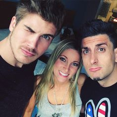 Joey Graceffa, Jeana Wellens, and Jesse Wellens (Prank vs Prank)