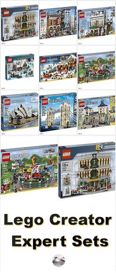 Lego Creator Expert Sets gives you larger buildings and larger vehicles with more pieces and more complexity to stimulate your mind. These Expert sets are designed so that experienced builders can use their imagination and building skills to create something magnificent.