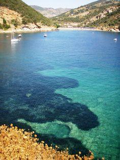 Mare di #Ortano, Rio Marina, Elba, Italy