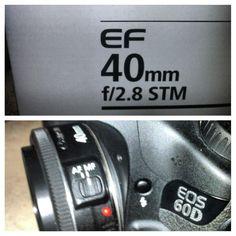 40mm pancake lens