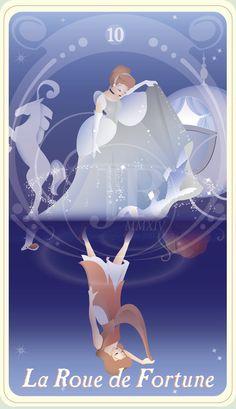 {The Princess Tarot} 'La Fortune: Cinderella' by suisei-ojii-sama on DeviantArt