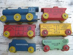 Hey, I found this really awesome Etsy listing at https://www.etsy.com/listing/244309622/vintage-strom-becker-wood-toy-train