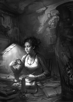 Artwork from the World of Darkness Series