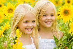 kids in sunflower fields - Google Search