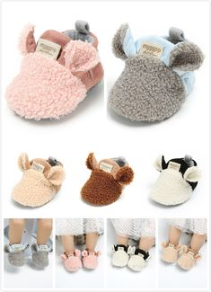 Best 12 For her first birthday- These Baby cozy slippers will blow your mind! Doll Shoe Patterns, Baby Shoes Pattern, Baby Patterns, Baby Sewing Projects, Sewing For Kids, Baby Boy Shoes, Baby Booties, Slippers For Girls, Baby Kind
