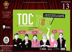 ESTE DOMINGO 13: Toc Toc llega para obsesionar a los correntinos #ArribaCorrientes