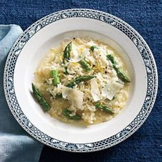 One-Pot Meal Recipes: Asparagus and Lemon Risotto | CookingLight.com