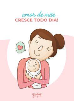 Amor de mãe é aquele que cresce cada vez mais, desde a barriga, para sempre! ❤️☺️ #maternidade #gravidez Mystic Messenger, Lilo And Stitch, Kids And Parenting, T Shirts For Women, Youth, Baby Boy, Aromatherapy, Ted, Instagram