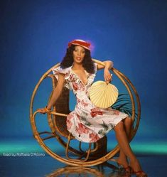 "Donna Summer from ""On the Radio"" photo shoot.  She was the first solo artist in history to have three consecutive #1 double-albums on the Billboard charts. The only other musical act to accomplish this feat was The Beatles."