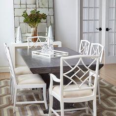 Porto Dining Table., Gray - Bungalow 5