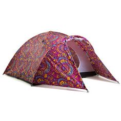 Bunches of awesome solar-tents perfect for music fests.  Purple Haze Solar Tent.