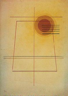 Severe in Sweet, 1928  Vasily Kandinsky