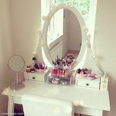 Makeup Dresser makeup mirror dresser organize organization organizing organization ideas being organized organization images vanity mirror makeup dresser