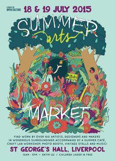 The Summer Arts Market returns! Sat 18 & Sun 19 July at St George's Hall Liverpool