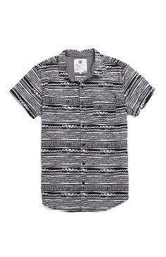 On The Byas Mickey Short Sleeve Woven Shirt at PacSun.com