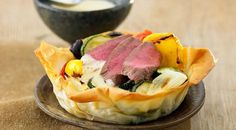 Ratatouille Tartlet With Lamb And Rosemary Sabayon #Recipe