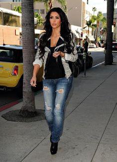kim kardashian style - Google Search. Her style was far better before Kanye.