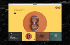 Web viewer #ui #ux #navigation #design https://readymag.com