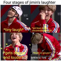 But seriously though his laugh can cure world hunger!