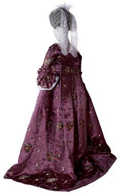 "fripperiesandfobs: "" Robe à la française ca. 1765 From the Kobe Fashion Museum via the Yamazaki Mazak Museum of Art """