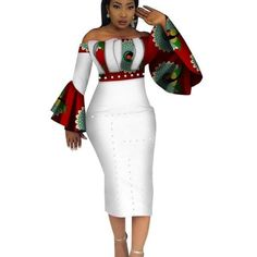Image of 2018 Summer Dashiki Party Hot Vestidos for Women Cotton Print Traditional African Clothing nature dress Mid-Calf Source by vonyemenam clothes traditional Short African Dresses, African Fashion Designers, Latest African Fashion Dresses, African Print Dresses, African Print Fashion, Africa Fashion, Traditional African Clothing, African Attire, Mode Style
