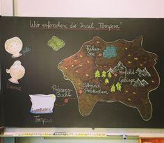 """Wir haben nun die Insel Tempora fertig erforscht. Am Montag steht noch eine letzte Aufgabe an um den Schatz zu finden (Spiele zum Thema Zeitformen) und die Reise zu beenden. Die Kids waren mit voller Begeisterung dabei und es war richtig schön zu sehen, dass #grammatikunterricht Spaß machen kann. Die Idee stammt aus dem Buch """"Zeitformen einfach märchenhaft"""" vom Auerverlag und ich habe sie für mich passend verändert. #deutsch #deutschunterricht #grammatik #zeitformen #grundschule…"""