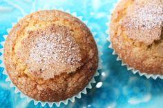 Apéritif Vegan Kitchen, Beignets, Mini Cakes, Flan, Biscuits, Cooking Recipes, Gluten, Breakfast, Orange