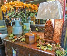 Gorgeous Fall merchandise is rolling in at Parlours Fine Furnishings and Design in Orange Tx
