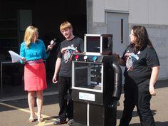 Kara Sundlun of Better Connecticut interviews DiscoTechs Captains and the ShowBot 3.8.12