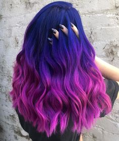 71 most popular ideas for blonde ombre hair color - Hairstyles Trends Cute Hair Colors, Pretty Hair Color, Beautiful Hair Color, Hair Dye Colors, Ombre Hair Color, Rainbow Hair Colors, Crazy Colour Hair Dye, Change Hair Color, Dyed Hair Ombre