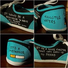 Augustus Waters Tfios Shoes Please give credit to MyRainbowVeins