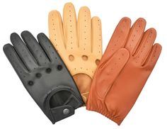 NEW CHAUFFEUR MENS SOFT SHEEP LEATHER DRIVING GLOVES DRESS VINTAGE CLASSIC RETRO #KANGOFITNESS #DrivingGloves