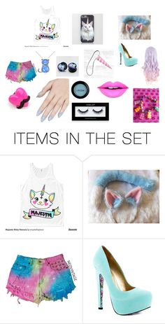 """MAGICAL CATACORN"" by lily96277 on Polyvore featuring art"