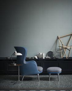 Trendfarben 2016 - Rose Quartz & Serenity: Ro Sessel von Fritz Hansen | online kaufen im stilwerk shop | ab € 2714,-