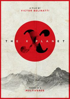 THE X PLANET - Movie Poster on Behance