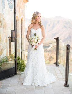 Malibu bride with lace detail