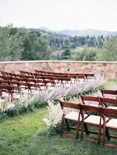 Brides: 6 Ways to Decorate Your Ceremony Aisle with Wildflowers