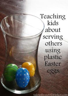 Here is a simple way to teach your family to do acts of service, using those colorful plastic eggs. I have been so impressed lately by how Gracie serves her little brother. I am inclined to think that it is. Soap Bible Study, Bible Study For Kids, Bible Lessons For Kids, Kids Bible, Farm Lessons, Youth Lessons, Children's Bible, Primary Lessons, Church Activities