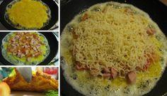 Levná, snadná a rychlá snídaně Casserole Recipes, Tapas, Zucchini, Grains, Muesli, Pizza, Rice, Eggs, Snacks