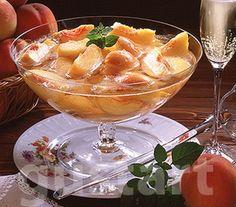 Lajos Mari konyhája - Pezsgős őszibarackbólé Smoothie, Food And Drink, Fruit, Drinks, Cooking, Recipes, Drinking, Kitchen, Smoothies