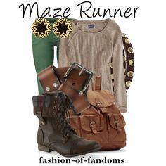 """Maze Runner"" by fofandoms on Polyvore"