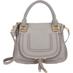 5b4365e95721c Chloé Marcie Medium Satchel at Barneys New York · Leather PursesLeather  HandbagsGrey ...