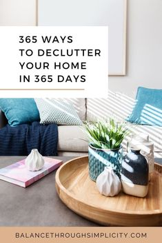 Decluttering your home can be a huge task if you've never done it before, have a lot of stuff, don't have much time or energy or aren't in the right mindset to just dig in and get started. To help you declutter your home, one day and one step at a time, check out this post on 365 ways to declutter your home in 365 days. #declutter #decluttering #organisation #home Home Organization Hacks, Organising Tips, Decluttering Ideas, Bathroom Organization, Declutter Your Home, Organizing Your Home, Under Stairs Cupboard, Old Candles, Boho Home