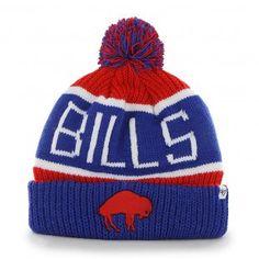 cdd059a39 Buffalo Bills NFL Calgary Knit 2 Legacy Beanie (Red) Buffalo Bills Apparel