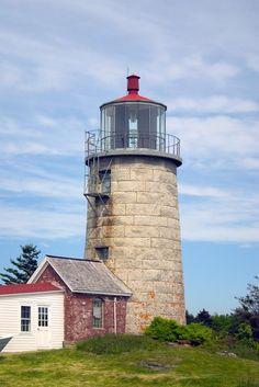 Monhegan Island Light Monhegan Island Maine US 43.764801, -69.315828