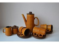 W. Germany Ceramano koffieservies.
