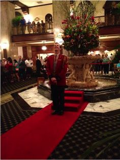 Anthony Petrina is the 5th Duckmaster at the Peabody Hotel in Memphis, Tennessee.